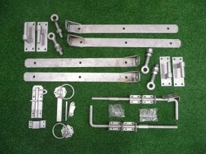 Galvanised Adjustable Hinge Kit