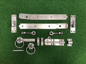 Galvanised 450mm Adjustable Hinge Kit