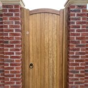 Iroko Lymm Design Natural Stain Front