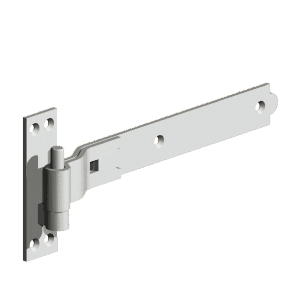 Cranked Hook and Band Hinges Galvanised