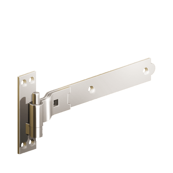 Cranked Hook and Band Hinges Stainless Steel