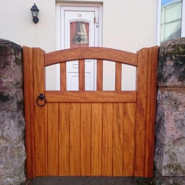 Hardwood Garden Gate in Tarporley Design