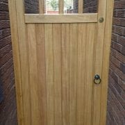 Idigbo hardwood lancashire design side gate