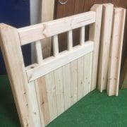 Softwood Garden Gate and frame
