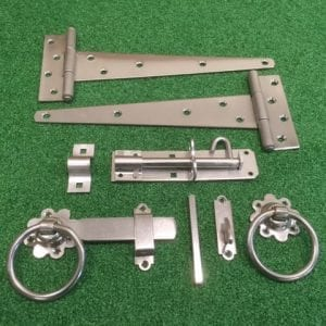 Stainless Steel Tee Hinge Kit