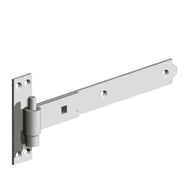 Straight Hook and Band Hinges Galvanised