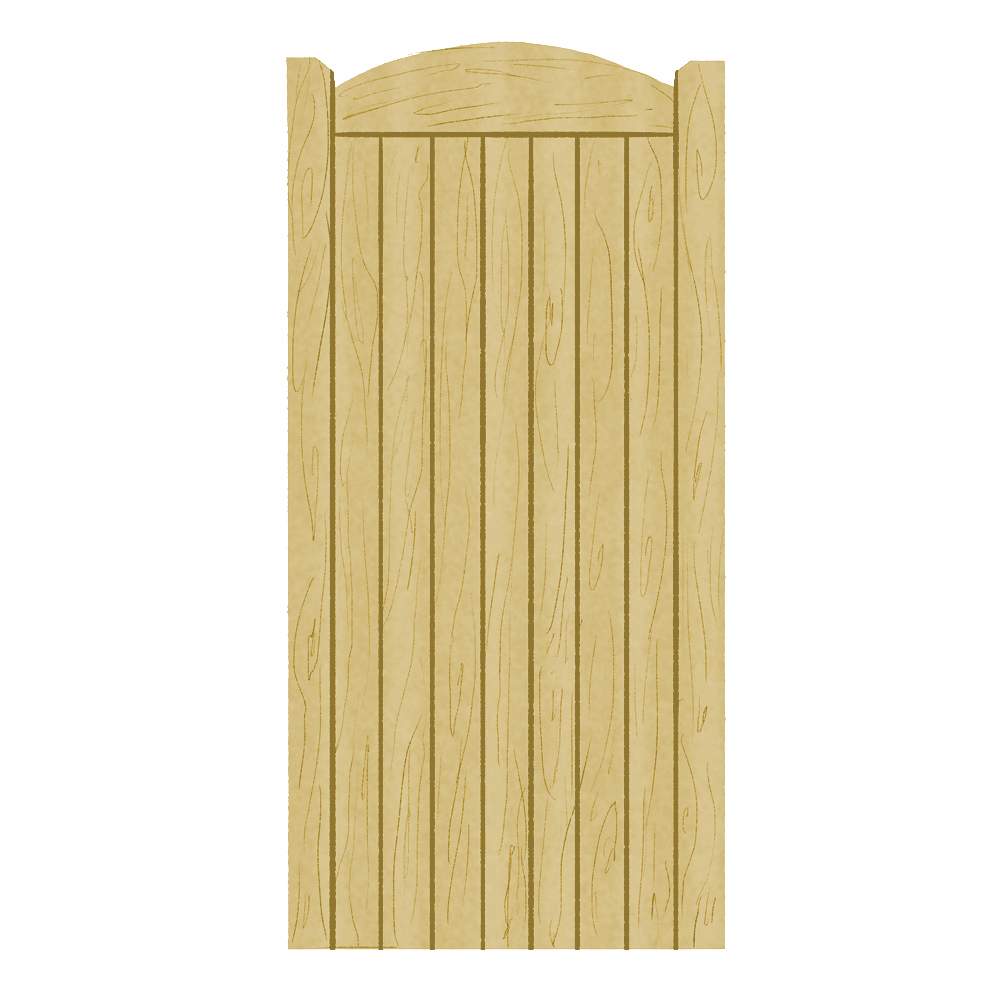 Wooden Side Gate Appleton Design