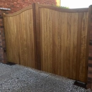 Showroom Double Gates in stock