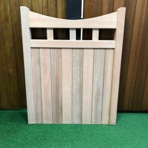 hardwood birchwood design garden gate