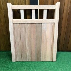 Meranti hardwood cheshire design garden gate