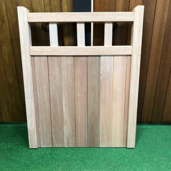 Hardwood Cheshire design garden gate