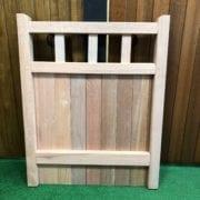 Cheshire design hardwood garden gate