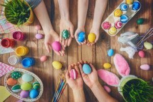 easter-egg-painting-garden-gate